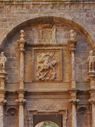 Darstellung des San Millán als Maurentöter