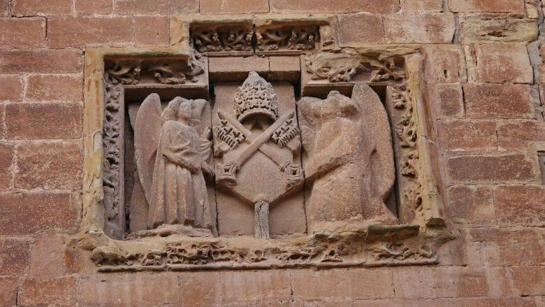 Wappen am Kloster Santa María la Real