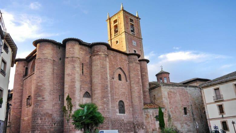 Kloster Santa María la Real in Nájera (La Rioja)