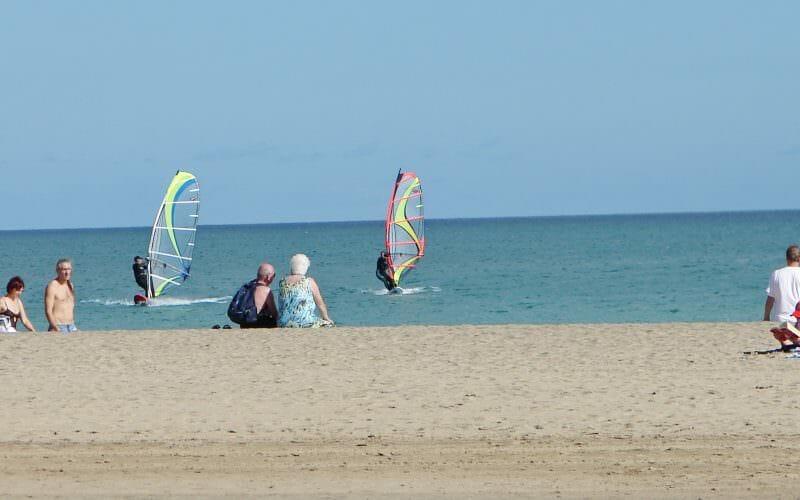 Baden und Surfen auf Fuerteventura