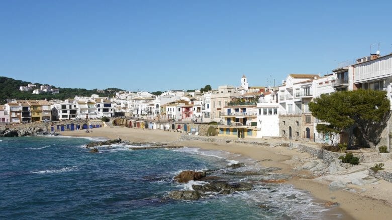 Calella, der stimmungsvolle Küstenort an der Costa Brava