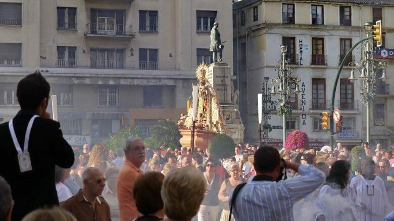 Prozession in Málaga