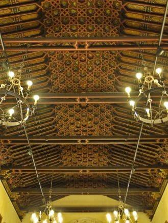 Deckenvertäfelung im Monasterio Santa María de la Rábida