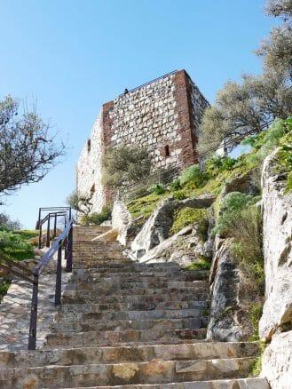 Aufstieg zum Castillo de Monfragüe