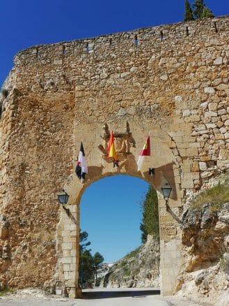 Puerta del Calabozo, das Tor durch die Stadtmauer