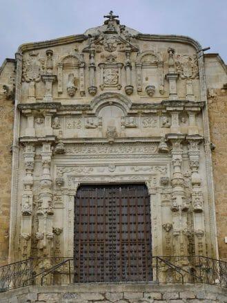 Portal der Kirche Santa Maria von Alcaudete