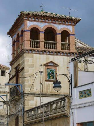 Kleiner Palast mit modernistischen Elementen in Alcaudete