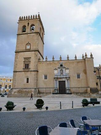 Die Kathedrale San Juan Bautista von Badajoz