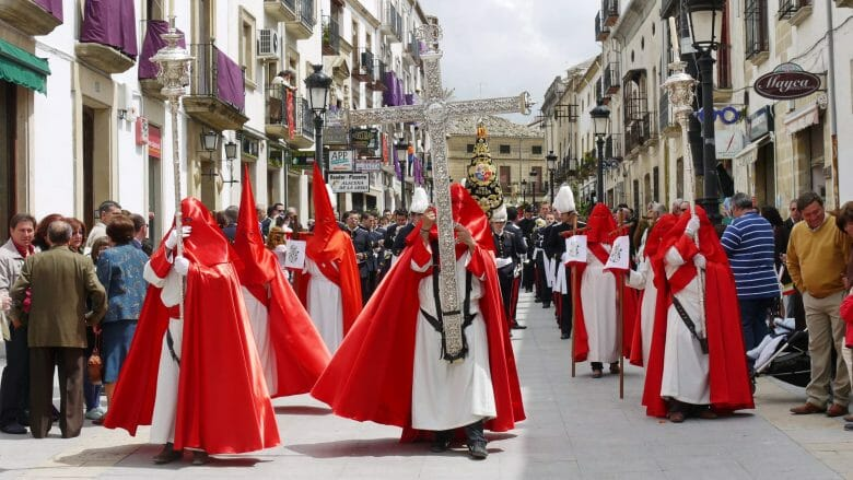 Prozession zu Ostern