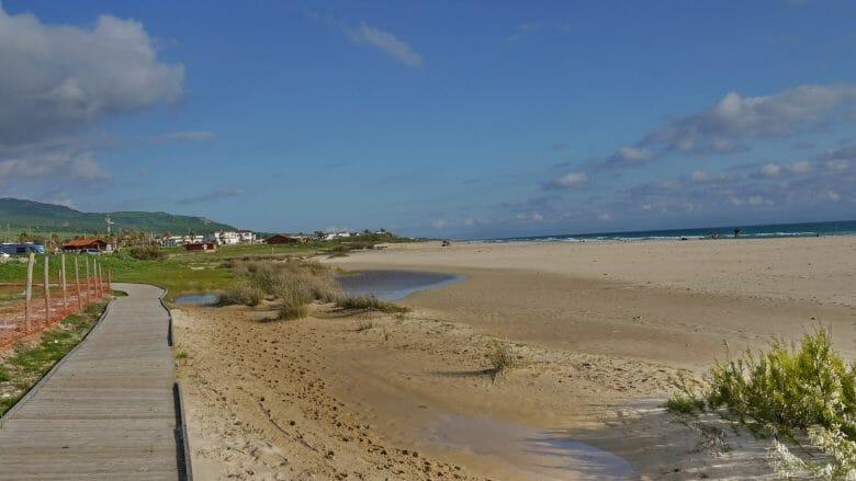 Der Strand Playa de Bolonia an der südlichen Costa de la Luz