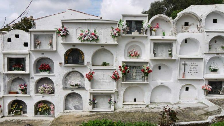 Friedhof in Gaucín