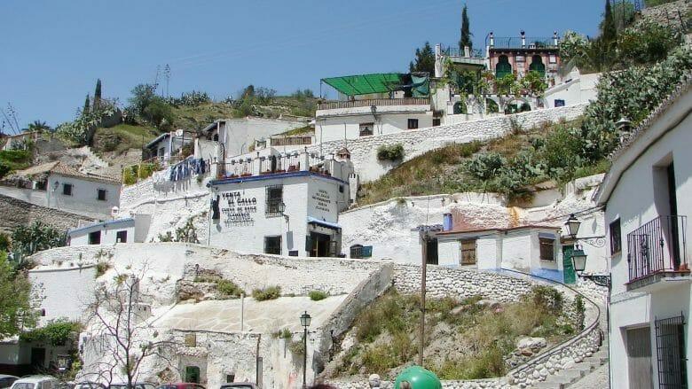 Granada: Im Viertel Sacromonte von Granada