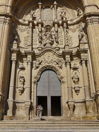 Portal der Kirche Santa María la Mayor in Alcañiz