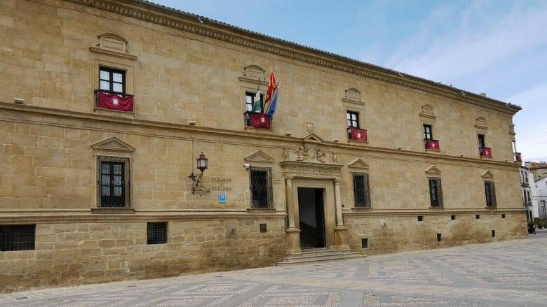 Der Palast Deán Ortega beherbergt einen Parador