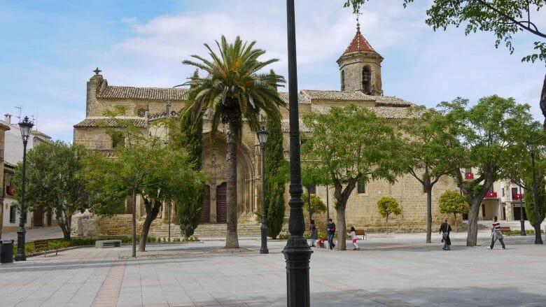 Plaza del Primero de Mayo in Úbeda