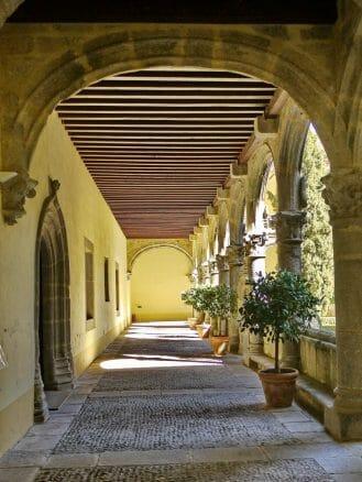 Kreuzgang im Kloster von Yuste
