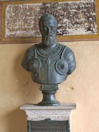 Büste von Karl V.