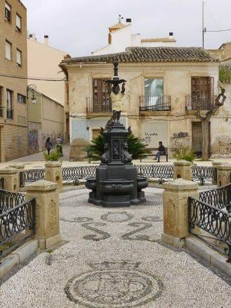 Plaza del Negrito in Lorca