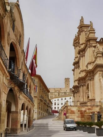 In der Altstadt von Lorca