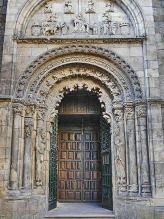 Portal der Kathedrale von Ourense