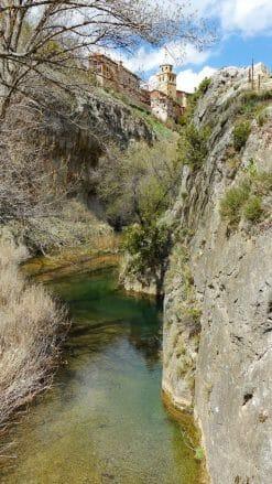 Die tiefe Schlucht des Flusses Guadalaviar
