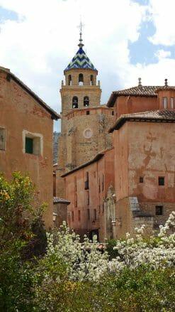 Glockenturm Kathedrale von Albarracín