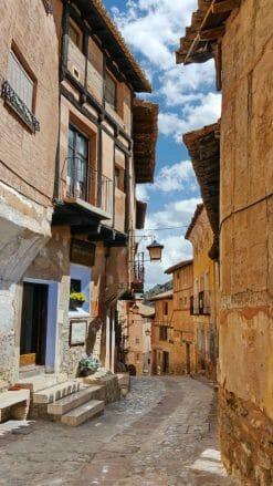 Blick in die Calle del Chorro