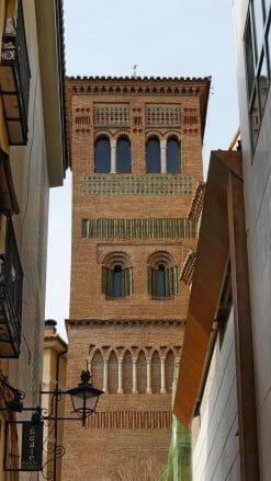 Mudéjar-Turm der Kirche San Pedro