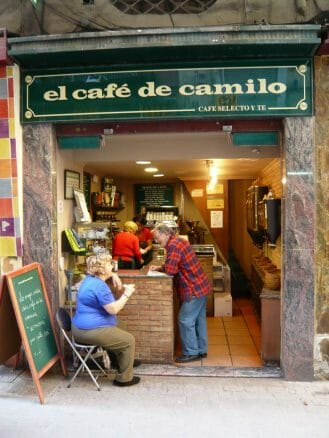 El Café de Camilo in Valencia