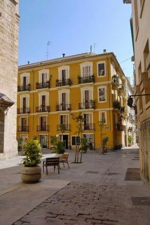 Modernisierte Häuser im Barrio del Carmen (El Carme)