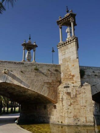 Pont de la Mar in Valencia