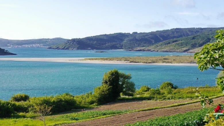 Ría de Corme e Laxe an der Costa da Morte von Galicien