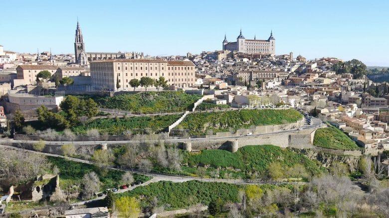 Blick auf die Altstadt von Toledo