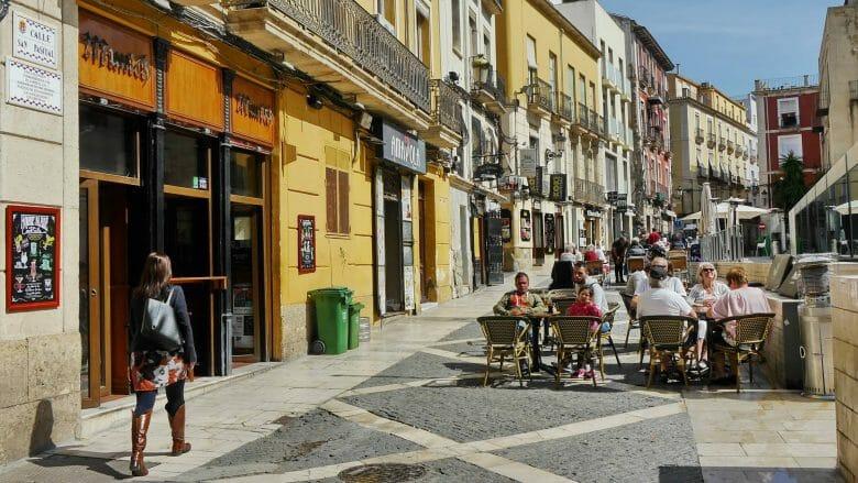 Die Calle San Pascual in der Altstadt