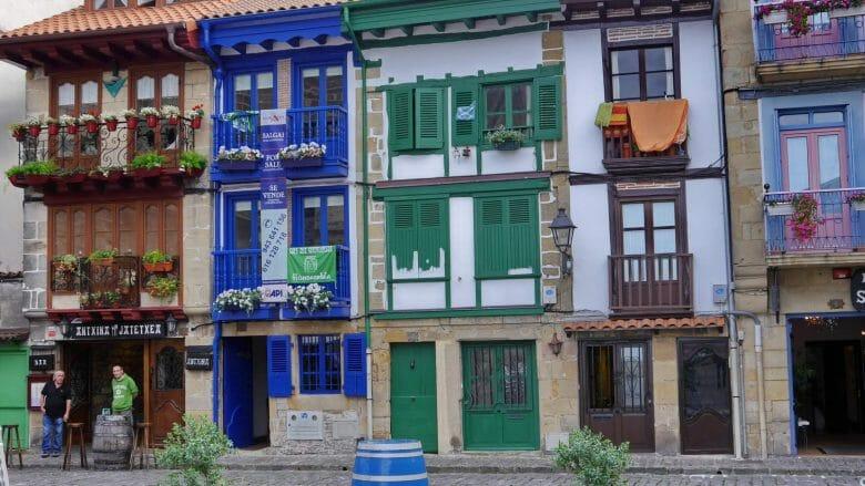 Fassaden in der Altstadt