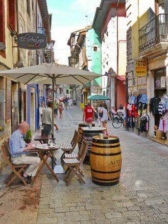 Eine Sidrería in der Altstadt von Llanes