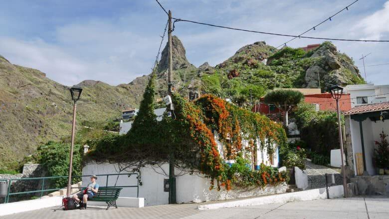 Weiler in einem Tal des Anaga-Gebirges