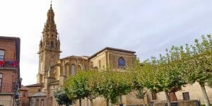 Santo Domingo de la Calzada (La Rioja), historische kleine Stadt am Jakobsweg