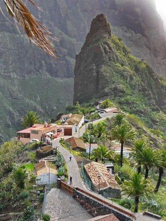 Das Dorf Masca im Teno Gebirge
