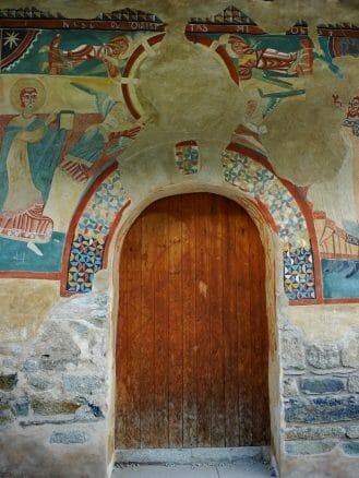 Wandmalereien an der Kirche Sant Joan de Boí