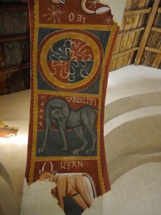 Wandmalereien in der Kirche Sant Joan de Boí