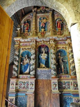 Altar in der Kirche Santa María in Taüll