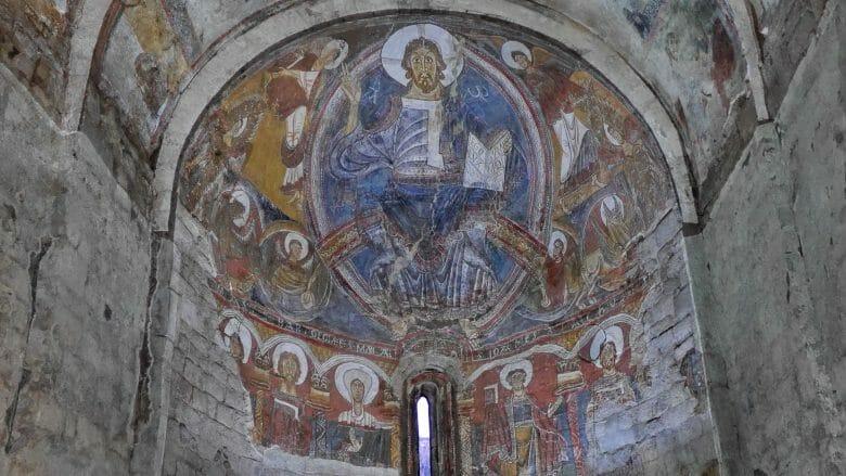 Der Pantocrator in der Kirche Sant Climent in Taüll