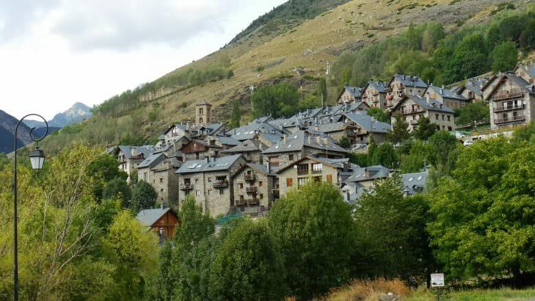 Das Bergdorf Taüll im Vall de Boí