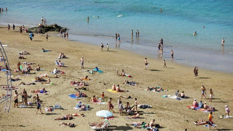 Playa de las Canteras (Gran Canaria)