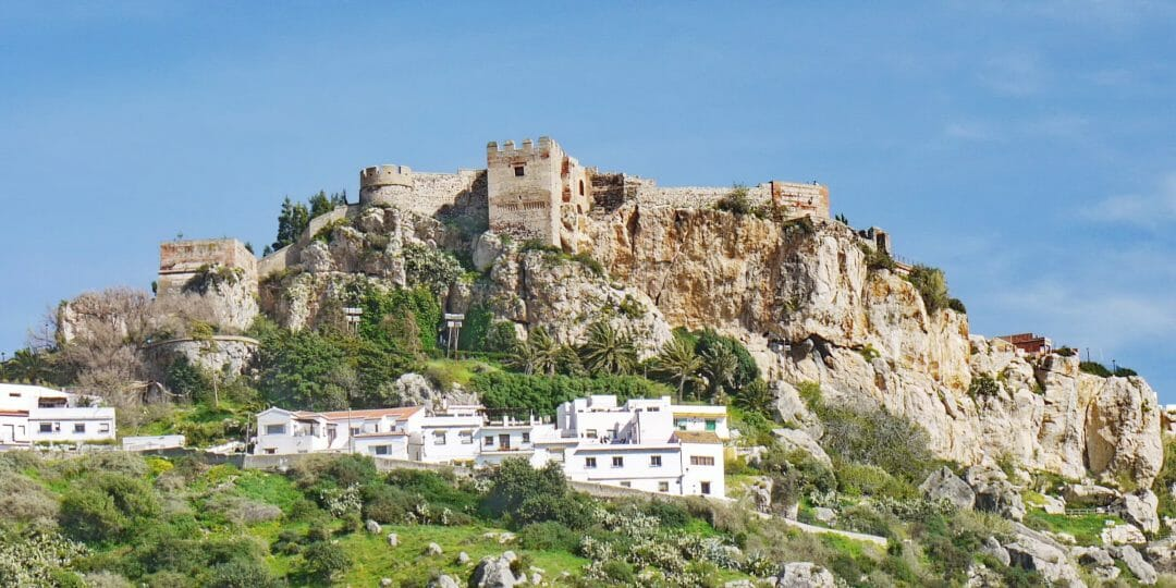 Salobrena an der Costa Tropical (Provinz Granada)