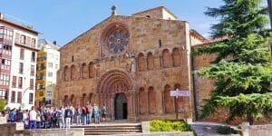 Kirche Santo Domingo (12. Jh.) in Soria