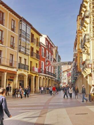 Einkaufsstraße Calle el Collado