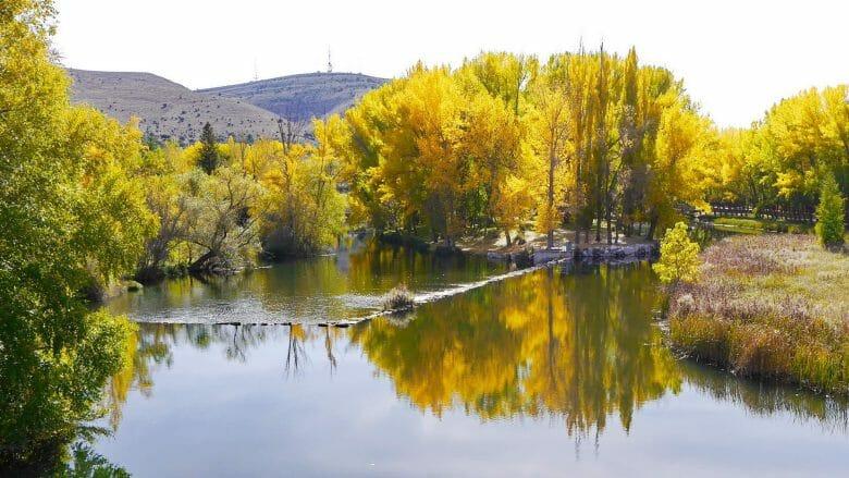 Der Fluss Duero bei Soria