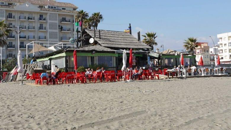 Strandbar in Estepona